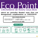 Rosny-Sous-Bois, programme « Eco Point » pour une Ville propre
