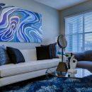 Bleu: cette couleur augmente-t-elle la valeur des maisons